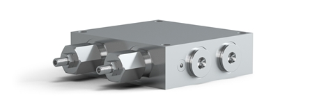 Control block is Used when Ratio-Clamp® is installed on a cylinder.
